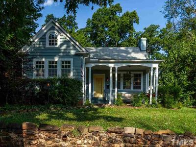 Raleigh Single Family Home For Sale: 1213 Filmore Street