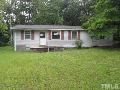 Harnett County Single Family Home For Sale: 216 Norrington Road