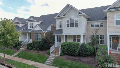 Wake County Townhouse For Sale: 1036 Palace Garden Way