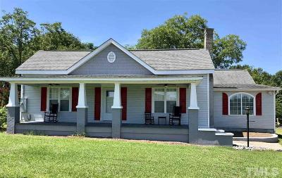 Smithfield Single Family Home For Sale: 1490 Braswell Road