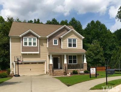 Raleigh Single Family Home For Sale: 2608 Cashlin Drive