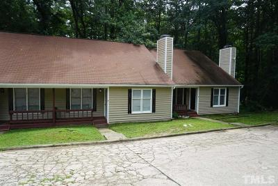 Wake County Multi Family Home Contingent: 5104 Vann Street