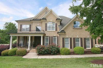 Raleigh Single Family Home For Sale: 11803 Wake Bluff Drive