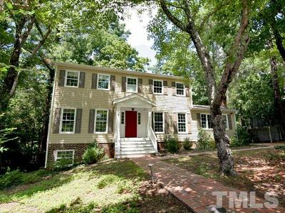 Chapel Hill Single Family Home For Sale: 1907 Fountain Ridge Road
