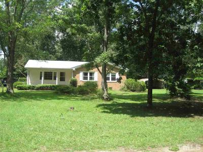 Benson Single Family Home For Sale: 1743 Nc 242 Highway