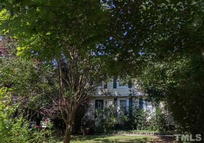 Chapel Hill Single Family Home Contingent: 2468 Foxwood Drive