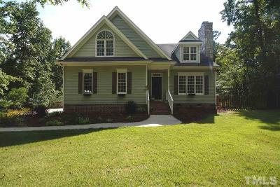 Wake Forest NC Single Family Home For Sale: $334,900