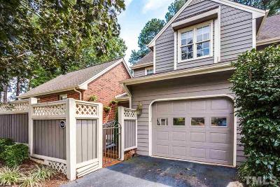 Raleigh NC Townhouse For Sale: $269,900