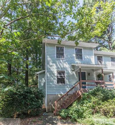Carrboro Townhouse Pending: 114 Barbee Court