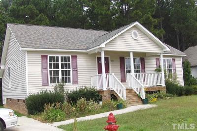 Johnston County Rental For Rent: 1249 Woodbriar Street