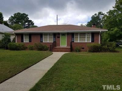 Dunn Single Family Home For Sale: 311 N Layton Avenue