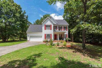 Youngsville Single Family Home Contingent: 250 Longwood Drive