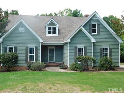 Zebulon Single Family Home For Sale: 2605 Huntdale Trail
