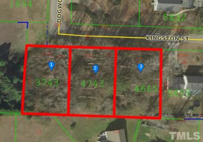 Johnston County Residential Lots & Land For Sale: Lots 15,16&17 Kingston Street