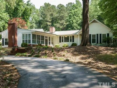Durham Single Family Home For Sale: 5816 Mt Sinai Road