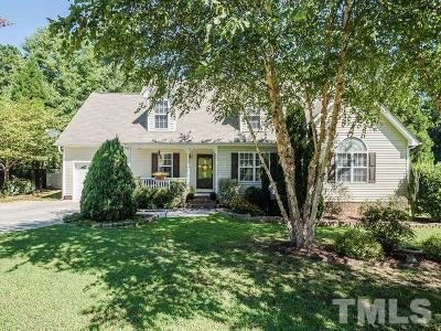 Youngsville Single Family Home Contingent: 435 Eagle Stone Ridge