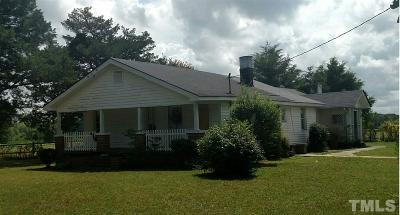 Johnston County Single Family Home For Sale: 2216 Princeton Kenly Road