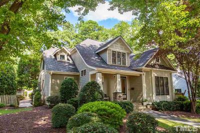 Raleigh Single Family Home For Sale: 2614 Hazelwood Drive