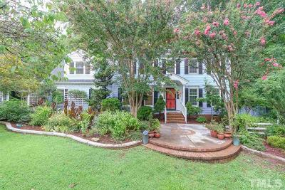 Chapel Hill Single Family Home Contingent: 119 Cobblestone Drive