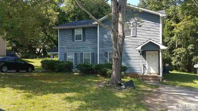 Wake County, Durham County, Orange County Multi Family Home Pending: 1910 Peppertree Street #A & B