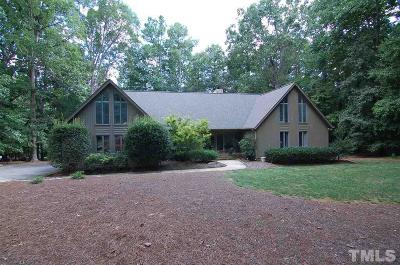 Raleigh Single Family Home For Sale: 1309 Swindon Court