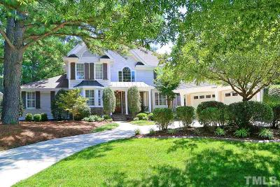 Wake Forest Single Family Home For Sale: 1300 Heritage Club Avenue