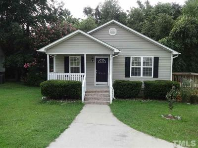 Johnston County Rental For Rent: 240 Mitchell Avenue