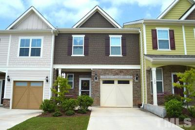 Apex Townhouse For Sale: 118 Ransomwood Drive