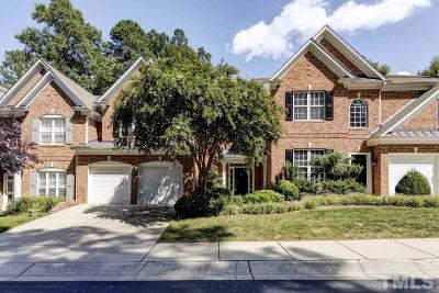 Raleigh Townhouse For Sale: 3902 Center Creek Circle
