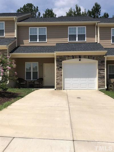 Johnston County Townhouse For Sale: 119 Beechleaf Court