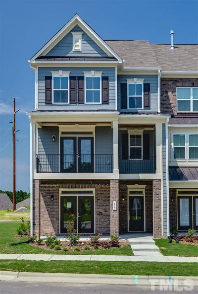 Wake Forest Townhouse For Sale: 536 Austin View Boulevard #313
