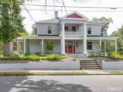 Durham Single Family Home For Sale: 311 Oakwood Avenue