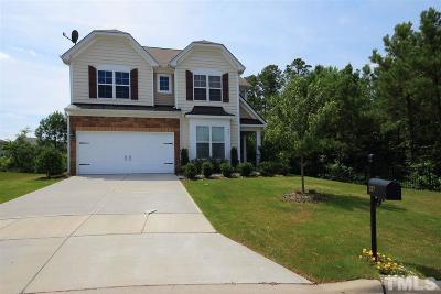 Morrisville Single Family Home For Sale: 237 Hammond Wood Place