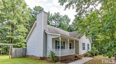 Youngsville Single Family Home Pending: 90 Eagle Stone Ridge