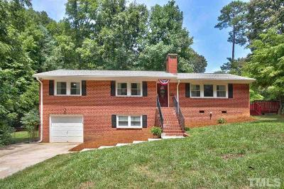 Cary Single Family Home Pending: 411 E Cornwall Road