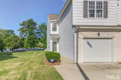 Raleigh Townhouse For Sale: 2345 Persimmon Ridge Drive