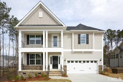 Knightdale Single Family Home For Sale: 8007 Peachtree Town Lane #Lot 28