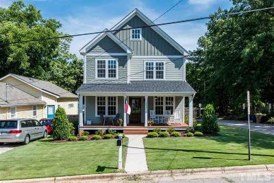 Raleigh Single Family Home Contingent: 2402 Bedford Avenue