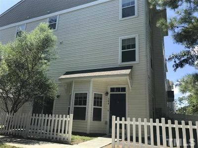 Raleigh Townhouse Contingent: 351 Gilman Lane #106