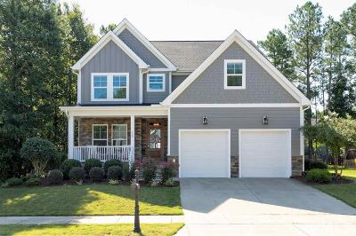 Fuquay Varina Single Family Home For Sale: 532 Lake Gaston Drive