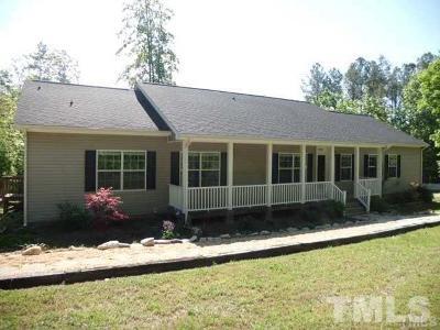 Wake Forest Single Family Home For Sale: 3199 Buckhorn Lane