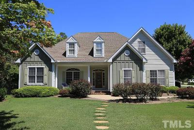 Fuquay Varina Single Family Home For Sale: 806 Red Hawk Court