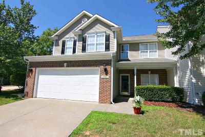 Raleigh Townhouse For Sale: 10801 Pendragon Place
