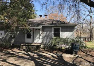 Wake County, Durham County, Orange County Multi Family Home For Sale: 306 Raynor Street