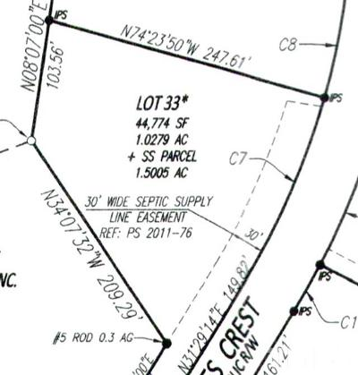 Pittsboro Residential Lots & Land For Sale: 49 Eagles Crest