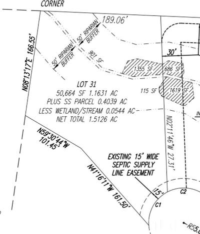 Pittsboro Residential Lots & Land For Sale: 109 Eagles Crest