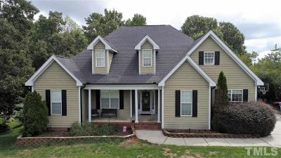 Clayton Single Family Home For Sale: 111 Black Forest Drive