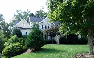 Cary Single Family Home For Sale: 505 Bexley Bluff Lane