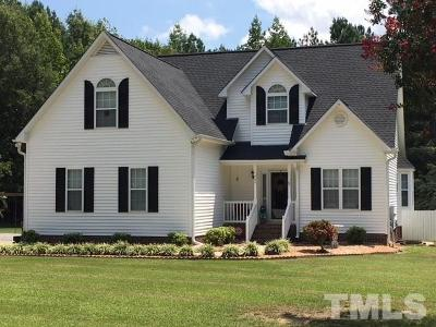 Garner Single Family Home For Sale: 660 Olympic Trail