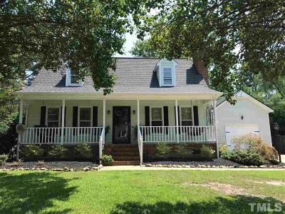 Johnston County Single Family Home Contingent: 27 Eden Drive